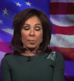 Jeanine Pirro on her Fox News television show, Saturday, March 29