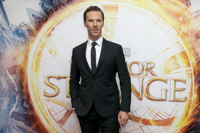 Benedict Cumberbatch at 2016 launch event for 'Doctor Strange'