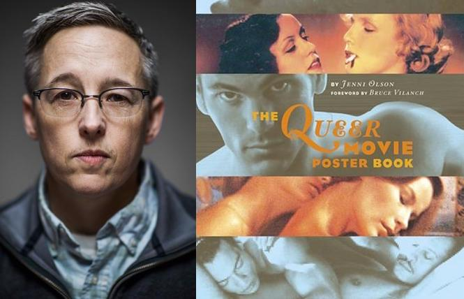 Filmmaker and historian Jenni Olson and her book,'The Queer Movie Poster Book'