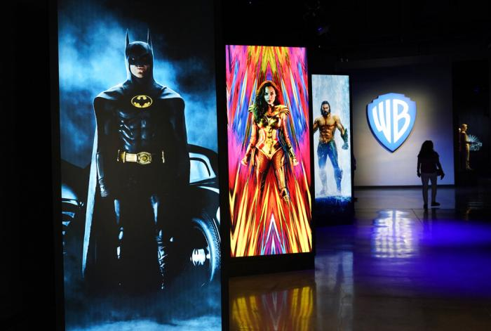"""""""Action and Magic Made Here"""" interactive experience at the Warner Bros. Studio Tour."""