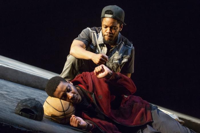 The Searing, Timely Play 'Pass Over' Leads Broadway's Return