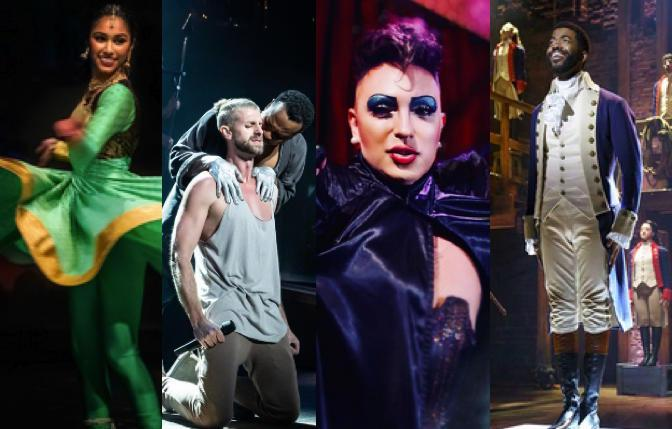 Chitresh Das Institute @ ODC Theater; 'Jesus Christ Superstar' @ Golden Gate Theatre; D'Arcy Drollinger in 'The Rocky Horror Show' @ Oasis; 'Hamilton' @ San Jose Center for the Performing Arts